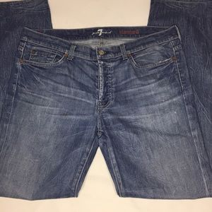 7 for all mankind Men's jeans 36 x 33 Standard